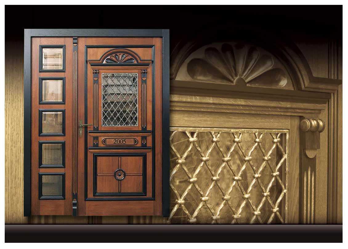 Drzwi wejściowe z dostawką