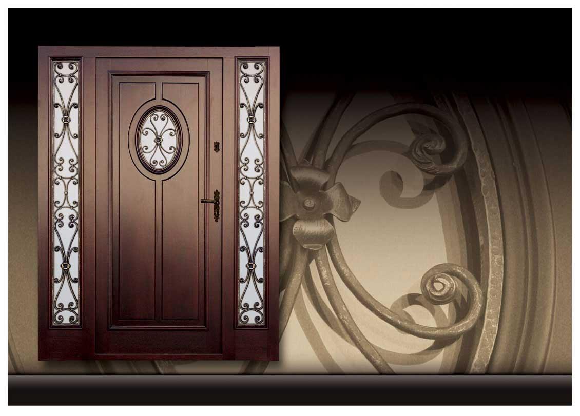 Drzwi zewnętrzne z dostawką