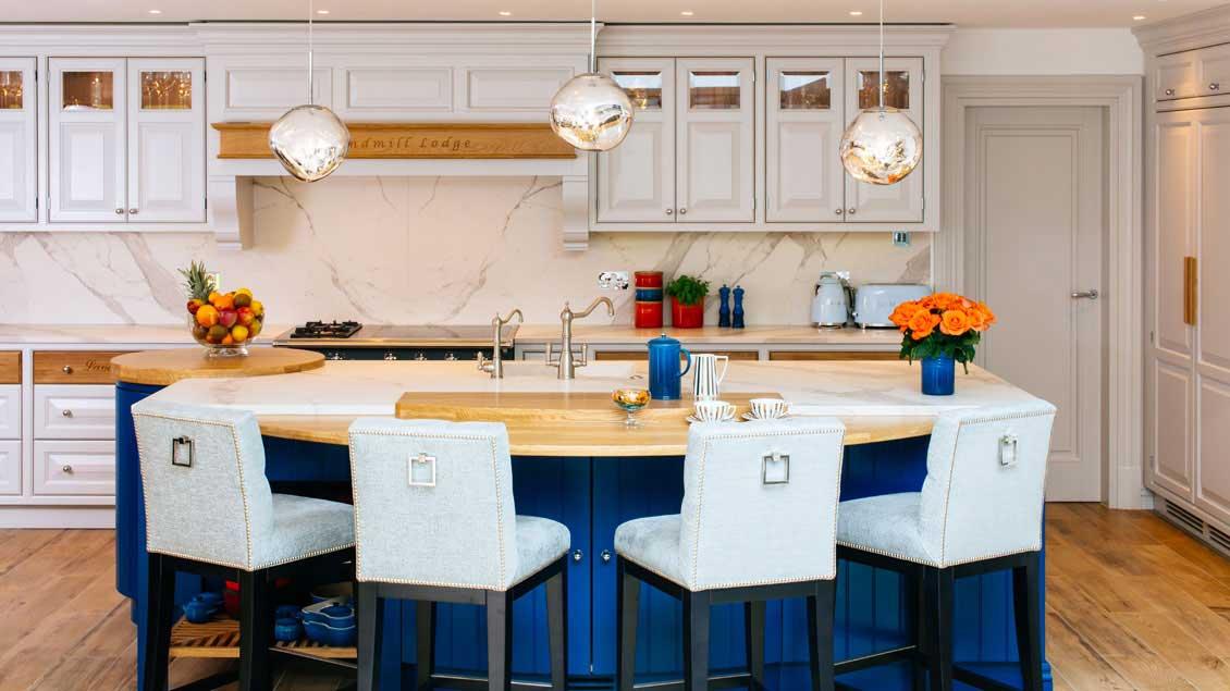 Kolorowe meble kuchenne na wymiar